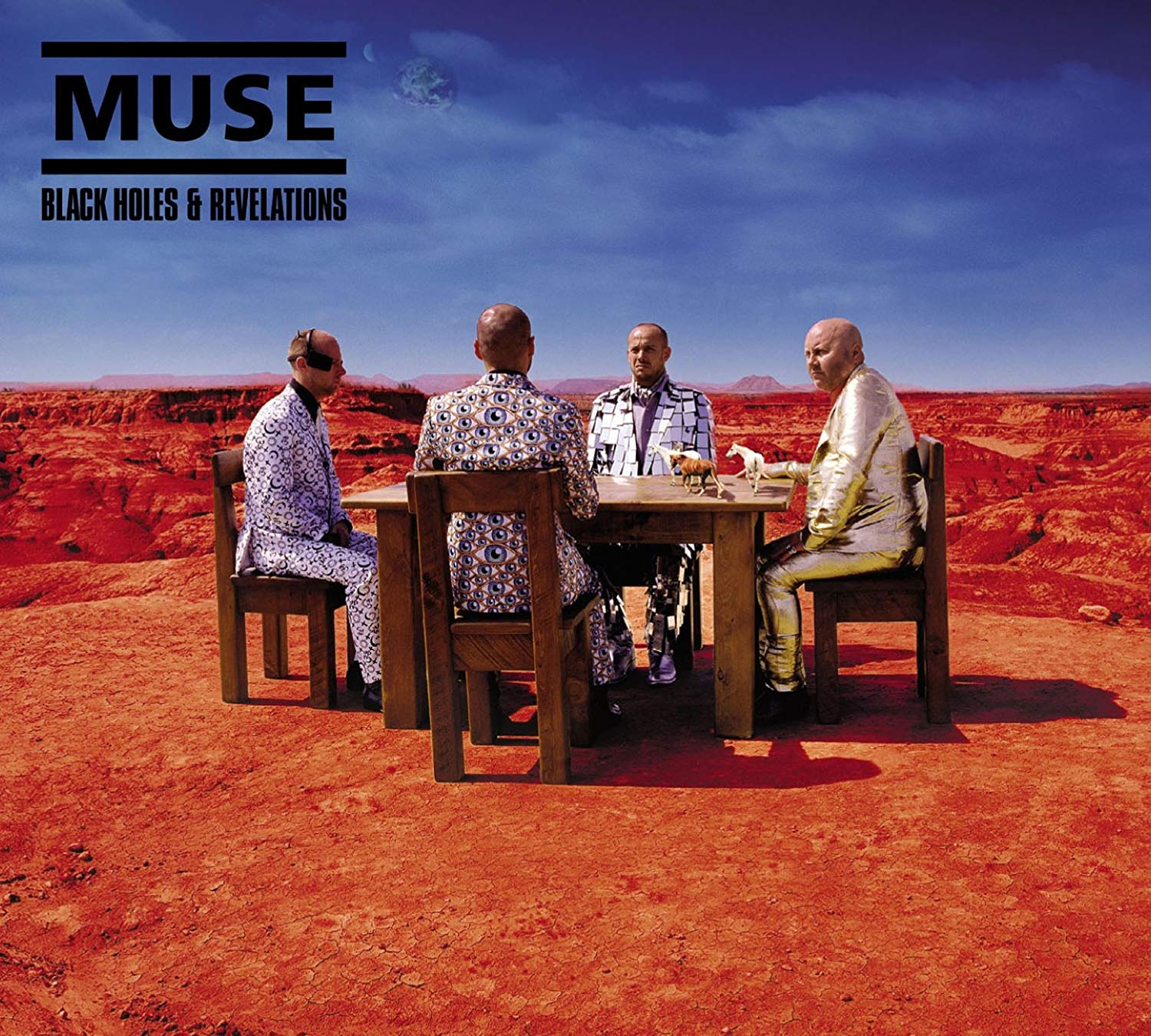 Muse — Black Holes and Revelations [Warner Bros. Records, Helium 3][25646 3509-2, HEL3002CDX](2006)