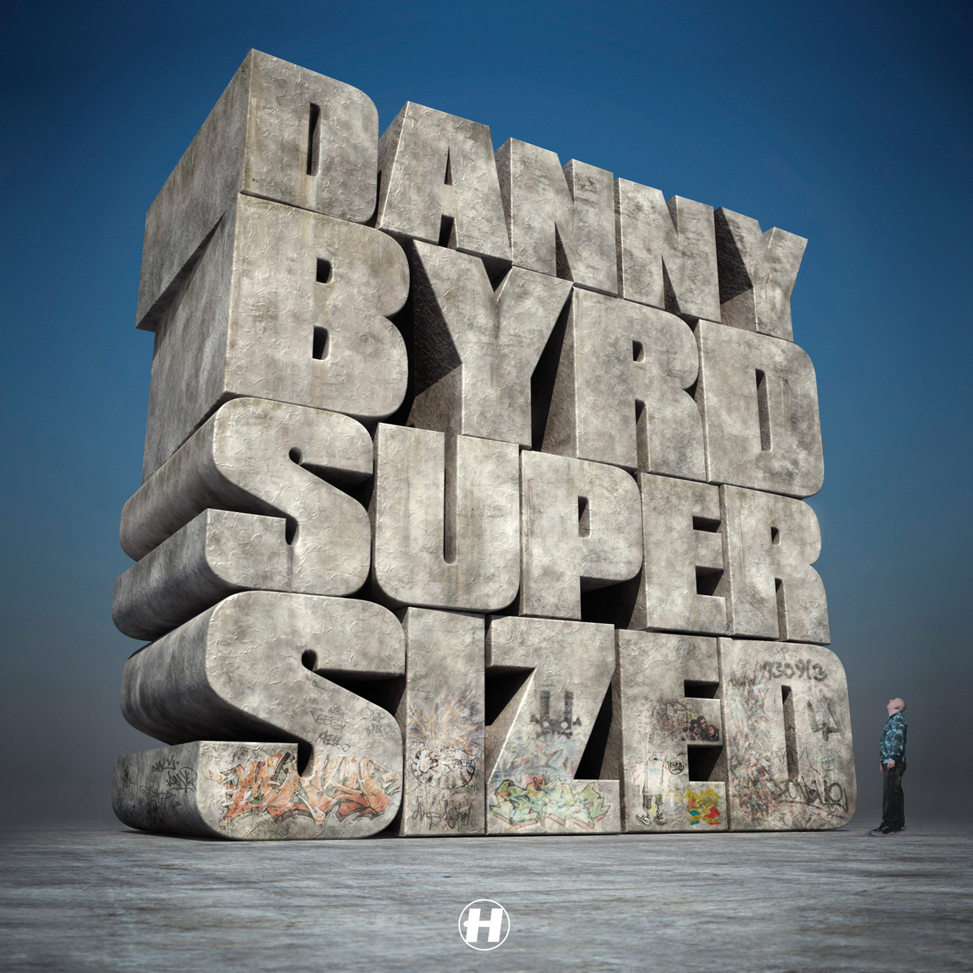 Danny Byrd — Supersized [Hospital Records][NHS139](2008)